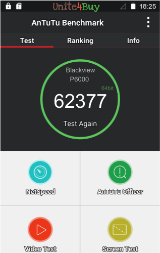 Blackview P6000 antutu benchmark результаты теста (score / баллы)