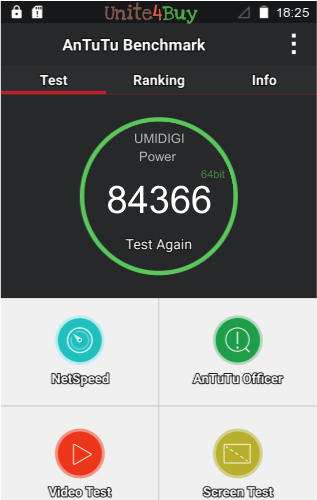 UMIDIGI Power antutu benchmark результаты теста (score / баллы)